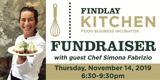 Findlay Kitchen Fundraiser with Chef Simona Fabrizio from Umbria, Italy