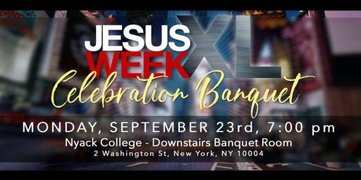 Jesus Week XL - Celebration Event