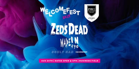 FYG U @ CU BOULDER  WELCOME FEST tickets