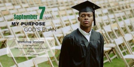 My Purpose, God's Plan tickets
