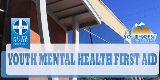 YOUTH Mental Health First Aid Training - AFFCF - Sept 24, 2019