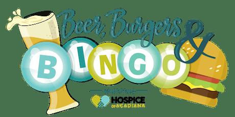 Beer, Burgers & BINGO tickets