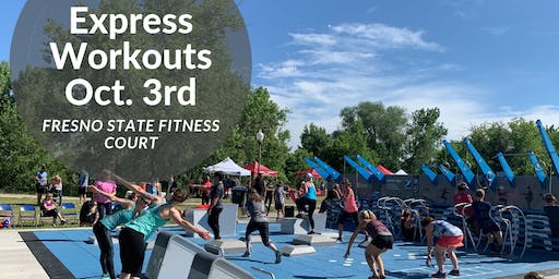 Free Workout Classes on the Fresno State Fitness Court!