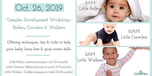 Compleo Child Development Workshops: Little Rollers, Crawlers & Walkers