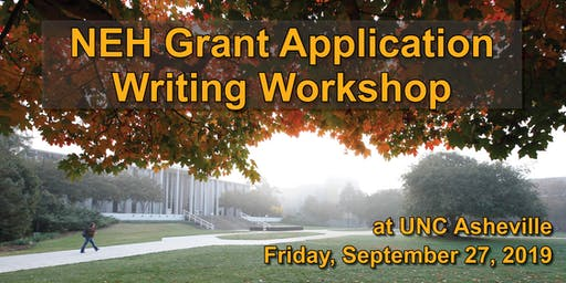 NEH Grant Application Writing Workshop