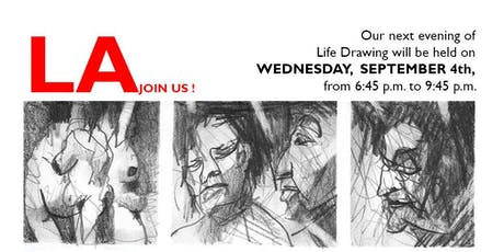 Life Drawing @LehrerArchitects Wednesday,SEPTEMBER 4TH tickets
