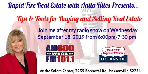 Rapid Fire Real Estate with Anita Hiles-Tips & Tools for Buying & Selling Real Estate