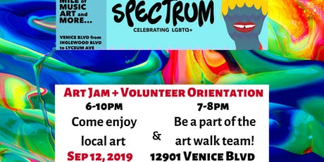 Spectrum Art Walk Volunteer Orientation tickets