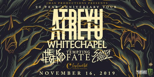 Atreyu/Whitechapel at Cargo Concert Hall