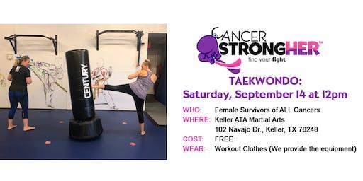 Cancer StrongHER Taekwondo — Free September 2019 Class