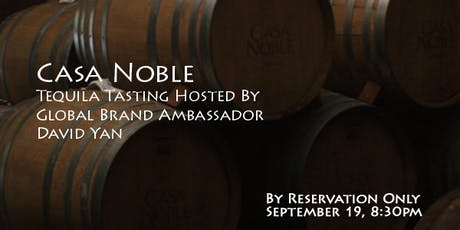 Casa Noble with David Yan tickets