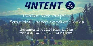 Families with Purpose: Batiquitos Lagoon Speaker Series (Walk & Talk Event)