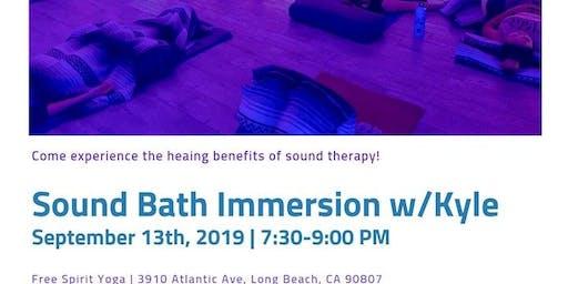 Sound Bath Immersion