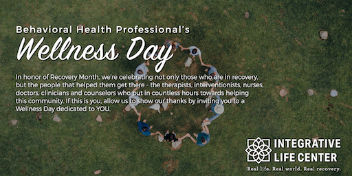 Professionals Appreciation Wellness Day