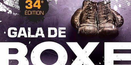 34e Gala de Boxe au Club de Boxe L'Imperium tickets