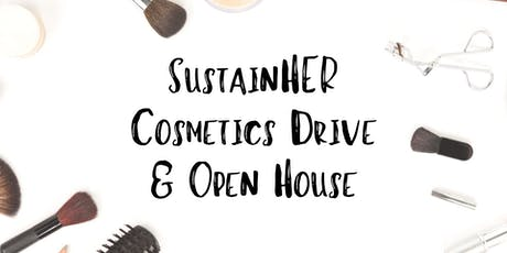 SustainHER Cosmetics Drive & Open House tickets