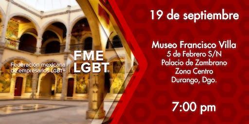 Lanzamiento de Capítulo de FME LGBT en Durango