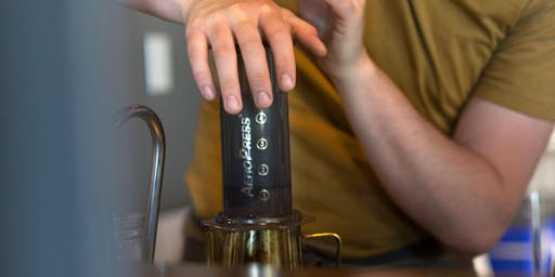 Aeropress and French Press Workshop | Transcend Coffee and Roastery