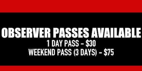 ATLA Takeova Dance Conference - Observer Pass tickets