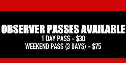 ATLA Takeova Dance Conference - Observer Pass