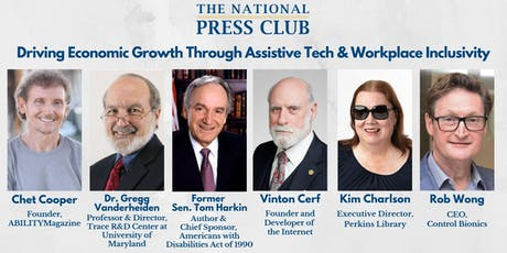 NPC Headliners: Driving Economic Growth Through Assistive Tech & Workplace Inclusivity tickets