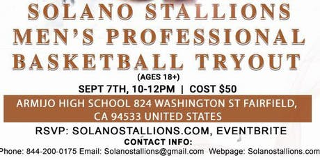 Solano Stallions Tryout #2 tickets