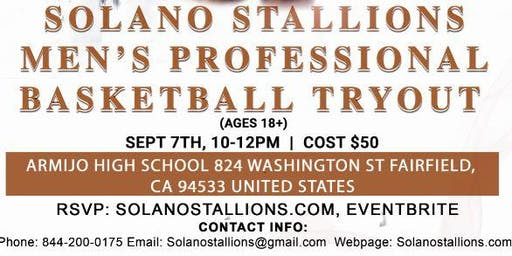 Solano Stallions Tryout #2