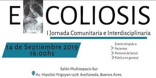 I Jornada Comunitaria e Interdisciplinaria sobre Escoliosis