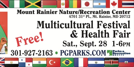 8th Annual Mount Rainier Multicultural Festival & Health Fair