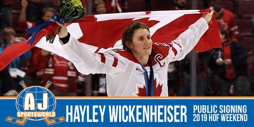 Hayley Wickenheiser In Store  Signing