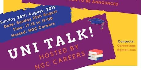 NGC  Victory - University Talk 2019 tickets