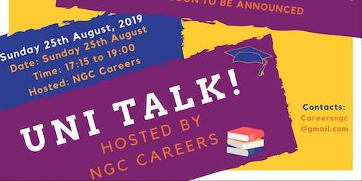 NGC  Victory - University Talk 2019