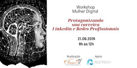 Workshop Mulher Digital ingressos