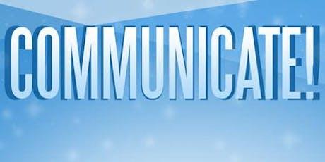 Communicate! tickets