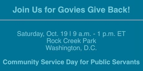 Govies Give Back tickets