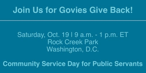 Govies Give Back