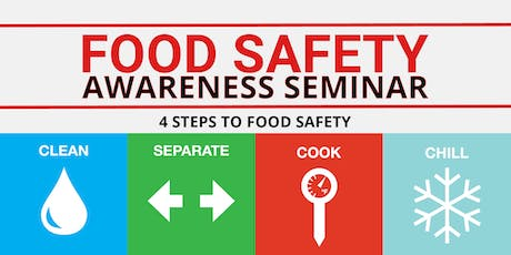 Food Safety Awareness Seminar – DuPage County Health Department tickets