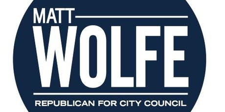 Reception to Support Matt Wolfe's Campaign for City Council - September 5, 2019 tickets