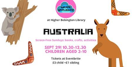 Australia Wirral Unplugged wk5 tickets