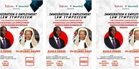 Immigration & Employment Law Symposium tickets
