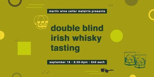 Double Blind Irish Whisky Tasting