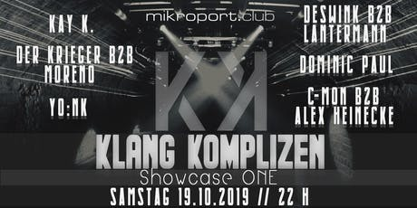 Klang Komplizen Showcase One Tickets