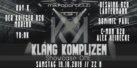 Klang Komplizen Showcase One Tickets