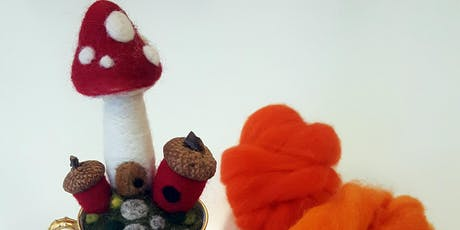 Needle Felted Fairy Garden with Claire Impens tickets