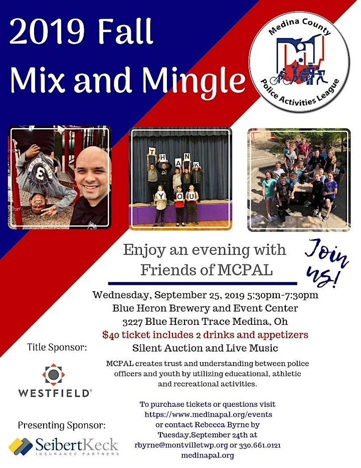 MCPAL Fall Mix and Mingle image
