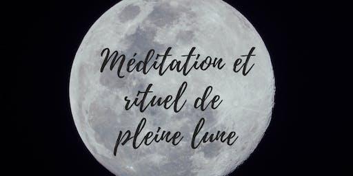 Méditation et rituel de pleine lune