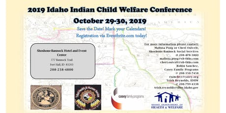 Idaho Indian Child Welfare Conference 2019 tickets