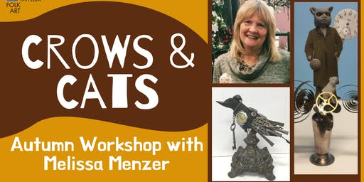 Crows & Cats Autumn Workshop with Melissa Menzer
