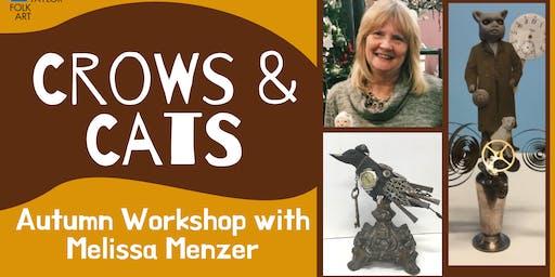 Crows & Cats Autumn Workshop with Melissa Menzer