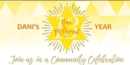 DANI's Bar Mitzvah Celebration